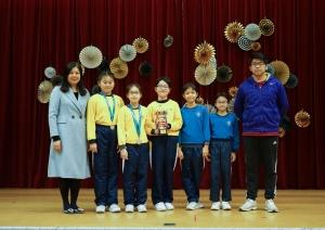 九龍東區小學校際游泳比賽-女子組團體殿軍