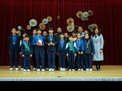 馬陳端喜紀念學校五人籃球賽-季軍