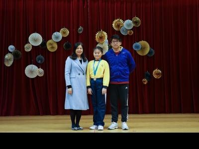 九龍東區小學校際游泳比賽-女子組50米自由泳